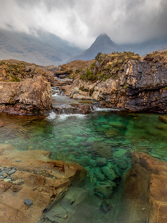 Fairy Pools Emerald Water