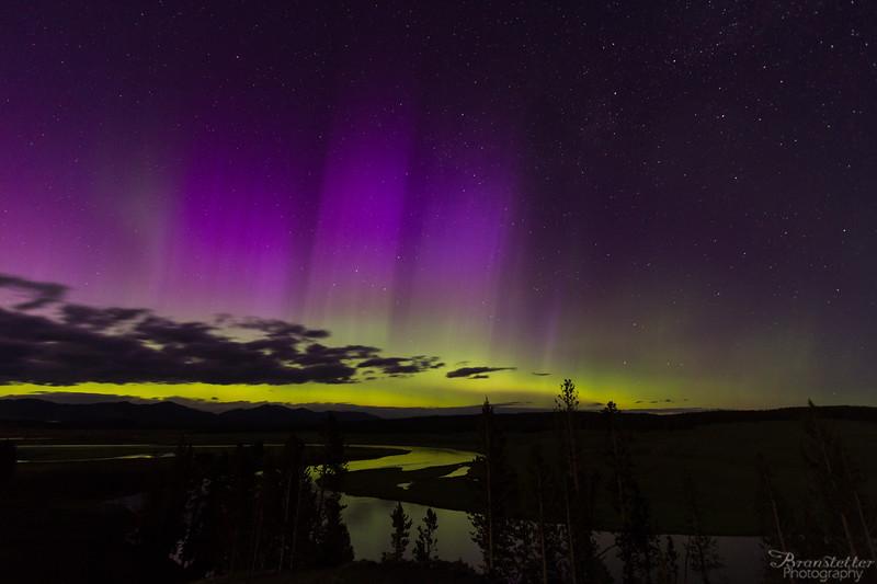 Auroras Over Hayden
