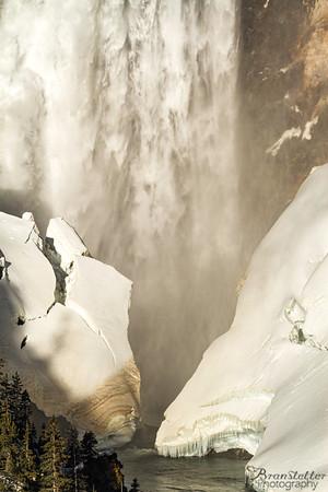 Lower Falls Detail