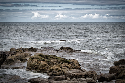 Whitley Bay rough North Sea