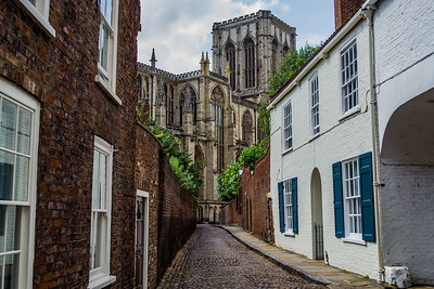 Back alley to York Minster
