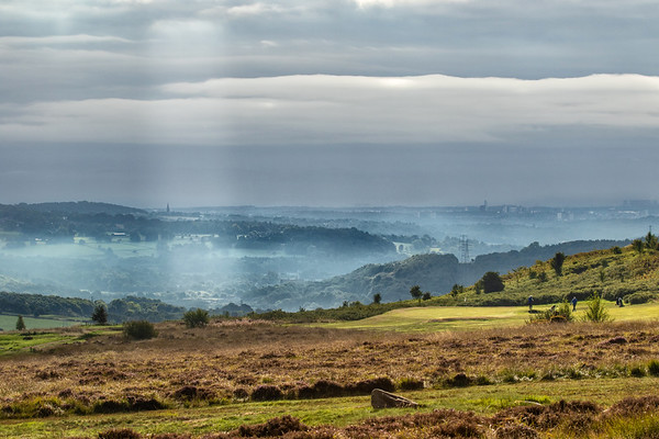 Early Morning on Baildon Golf Course
