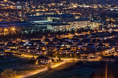 Salts Mill at Night