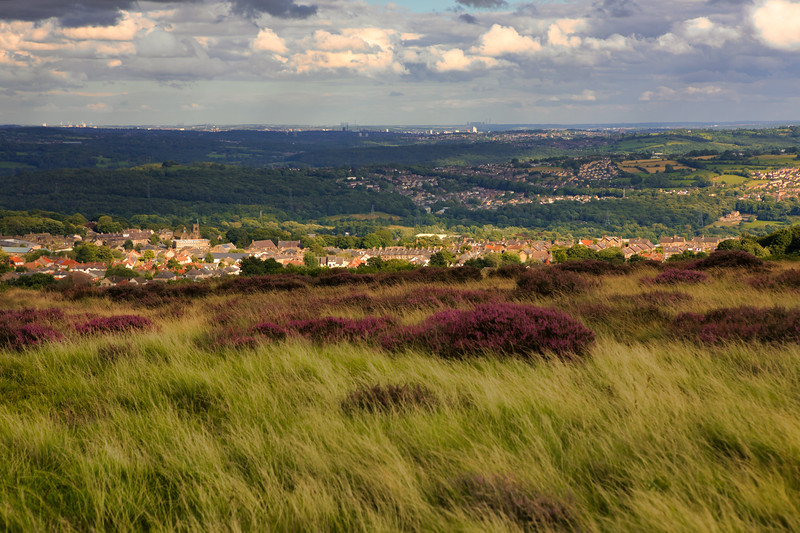 View from Baildon Moor