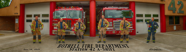 Bothell Fire Department, Station 42 A-Shift