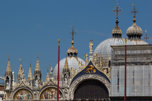 Detail of  St Mark's basilica.