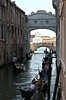 Traffic under the Bridge of Sighs, so called because of the sighs of the prisoners being taken to death row.