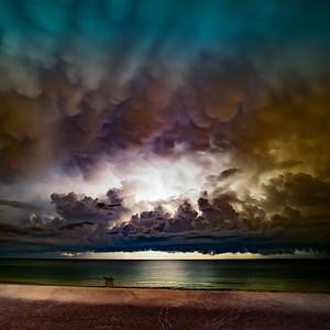 Mammatus Storm