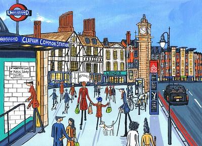 Clapham common station 2022
