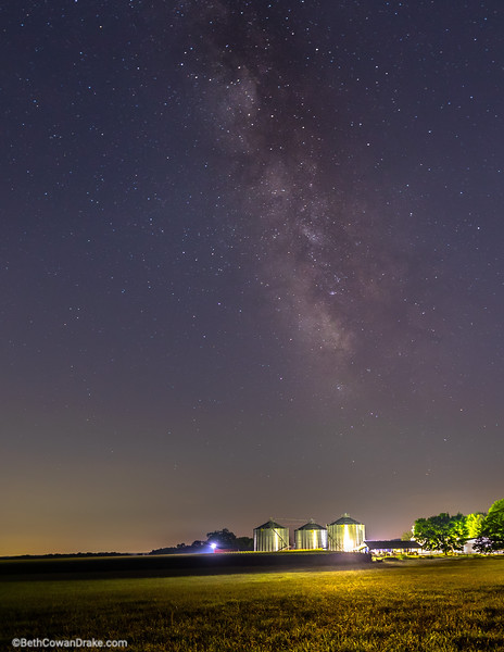 Milky Way, Madison County