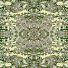Mayan Totem : Symmetry Series #14