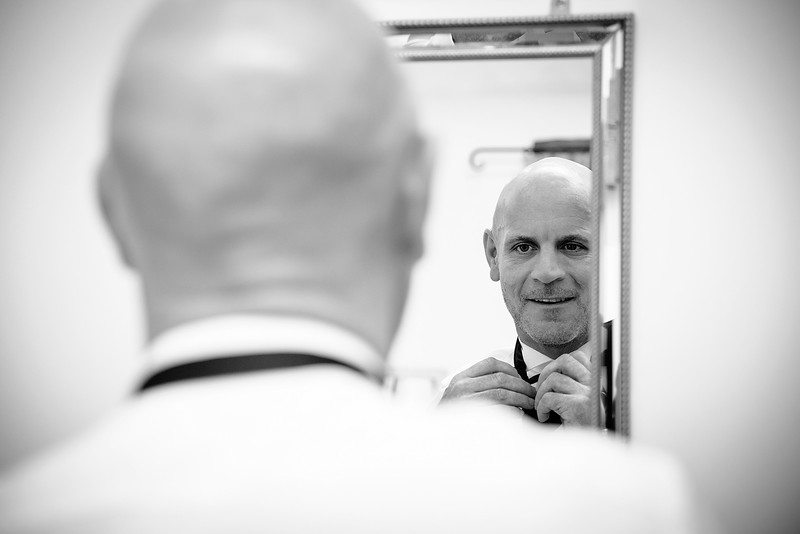 Groom in the Mirror