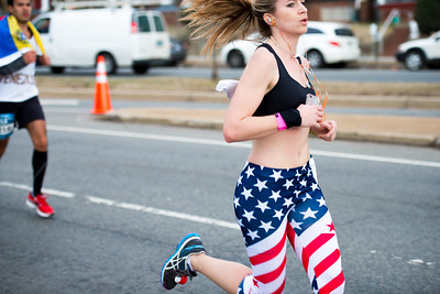 Running with the flag