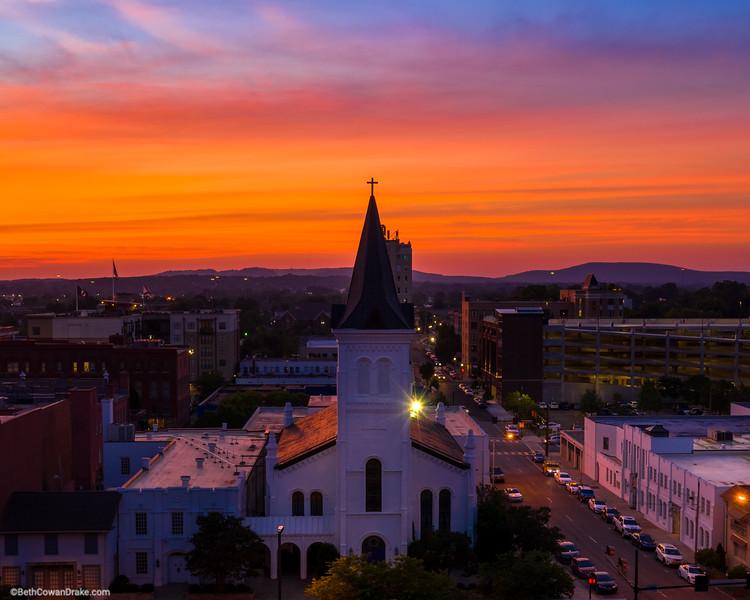 First United Methodist, downtown Huntsville