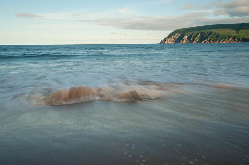 Ingonish Rocks and Wave
