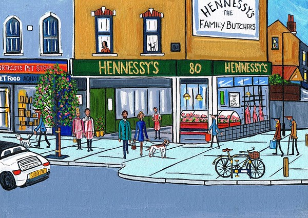 Hennessys at Northcote Road