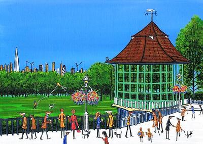 Horniman bandstand Forest Hill