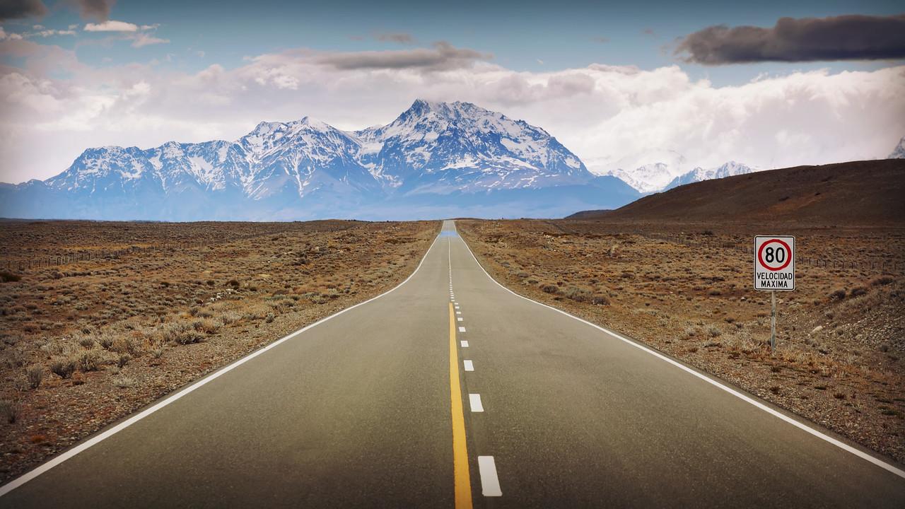 Road to El Chalten