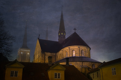 Roskilde Cathedral in the Dark