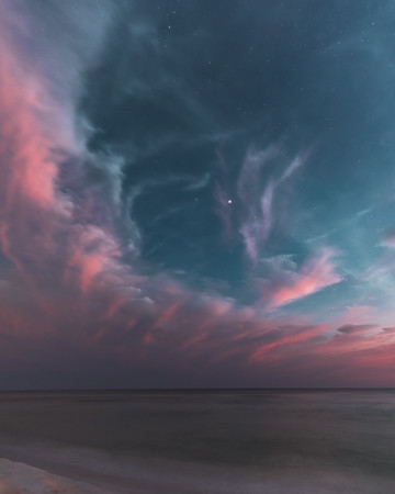Night Beach Nebula
