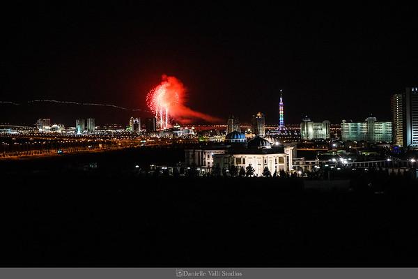 New Year's in Ashgabat