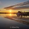 Sunset over Bonavista Harbour