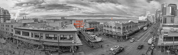 Pike Place Market Panoramic