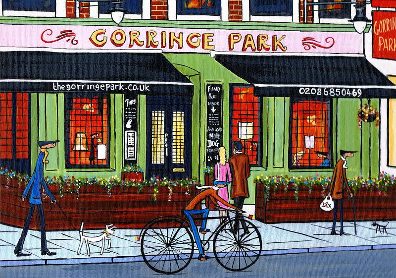 The Gorringe park Tooting
