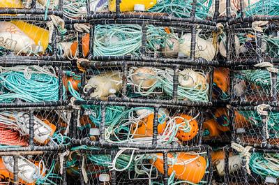 Crab Traps - Westport, Washington - October 2014