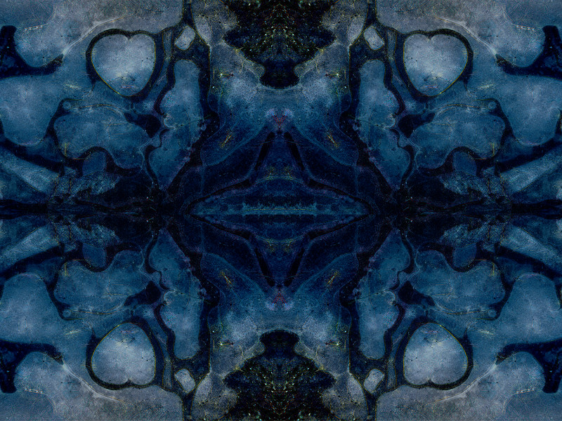 Stoney Blues : Symmetry Series #25
