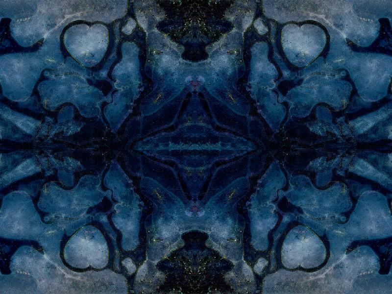 Stoney Blues : Symmetry Series #25