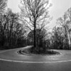The hairpin turn at Bankhead Parkway, Monte Sano, Huntsville