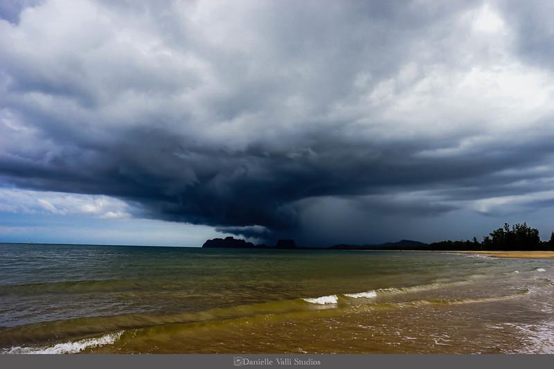 Storm Rolling into Bang Boet Bay