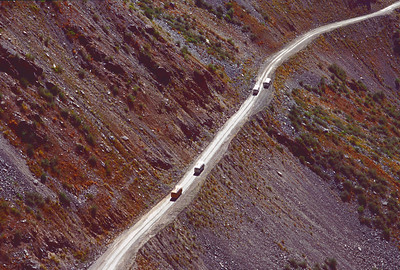 Busses from above