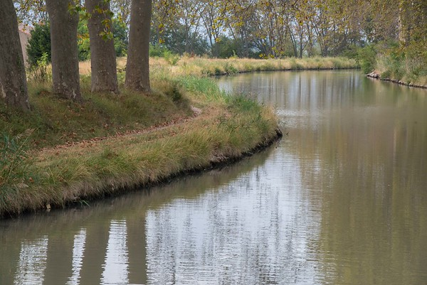 Canal du Midi Bend