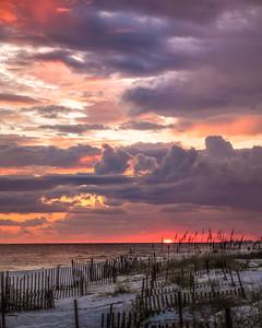Spinning Skies Sunset