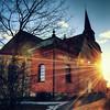 Fors Church Sunbeams