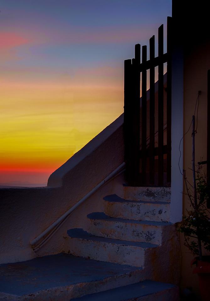 Sunset Rainbow Color