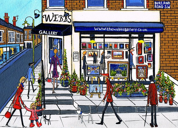 webbs Gallery where some of my Originals are...