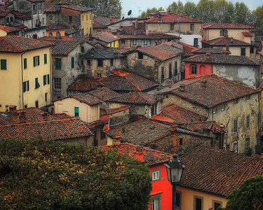 After The Rain In Barga