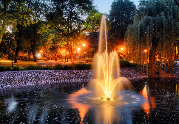 A Bernardine Fountain