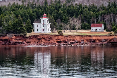 Passing Blockhouse Point Lighthouse