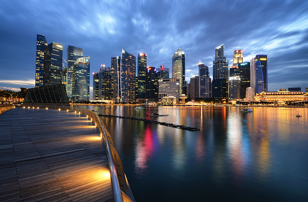 Marina Bay Skyline