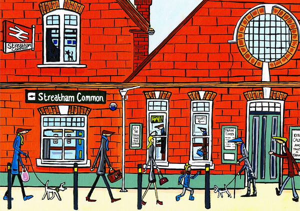 Streatham Common Station