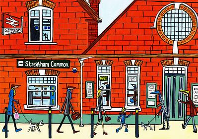 Streatham Common Station
