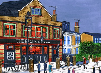 The Eagle ale house in clapham