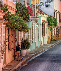 Cartagena Walled City Morning