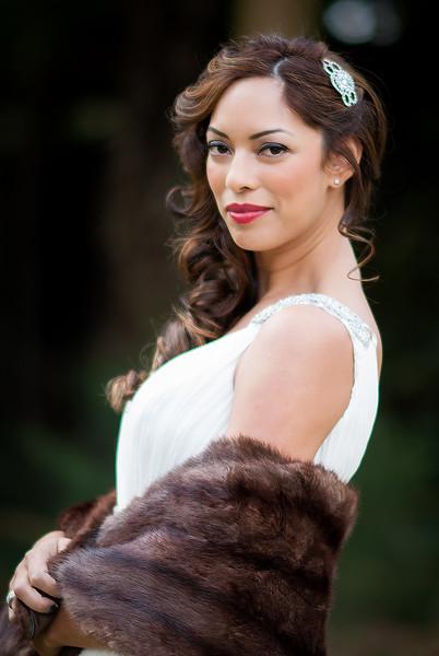 A Glamorous Bride