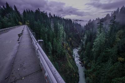 High Steel Bridge over Skokomish River