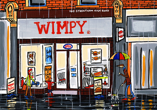 old school wimpy bar